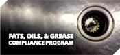 Fats, Oils, & Greese Compliance Program